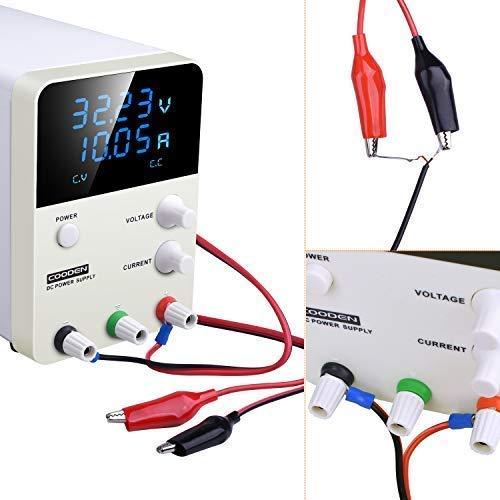 Suministro eléctrico de laboratorio